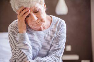 У пожилых людей боль интенсивней
