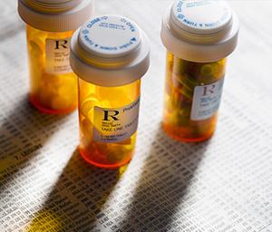 Таблетки в колбах