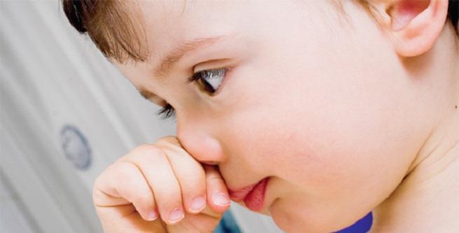 Почесывание носа
