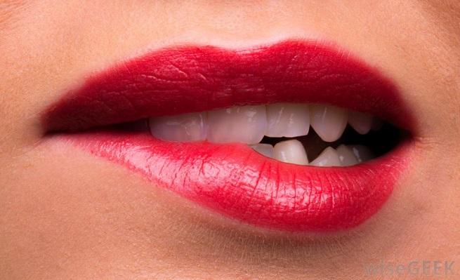 Закусывание губ