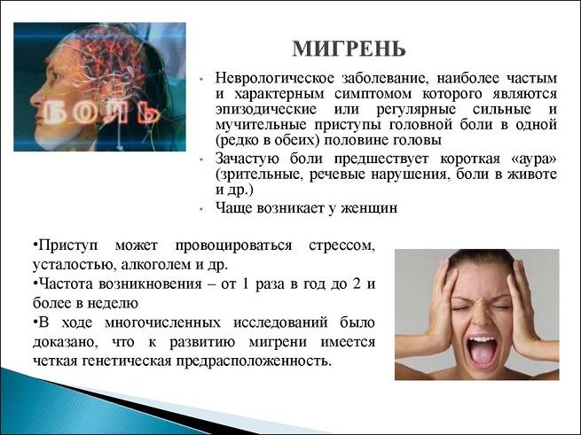 Описание мигрени