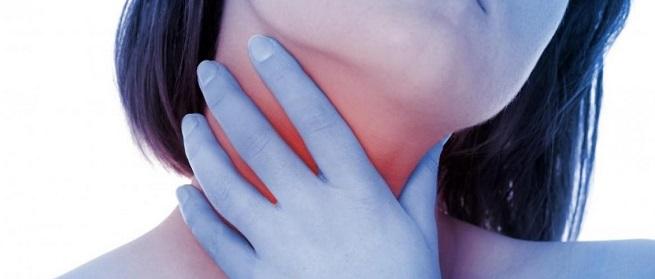 Неприятные ощущения в горле