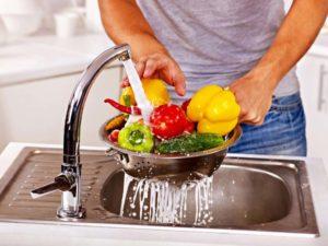промывка овощей