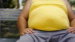 причина мералгии - ожирение
