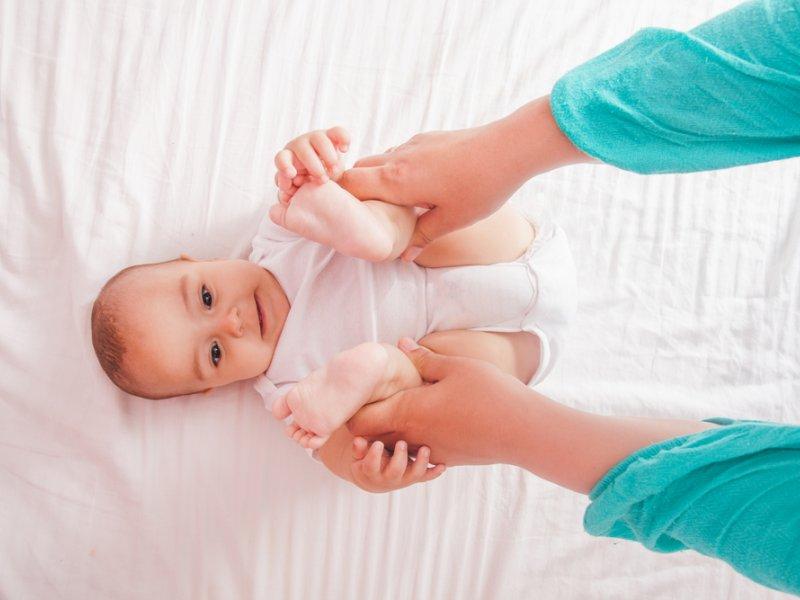 здоровый новорожденный